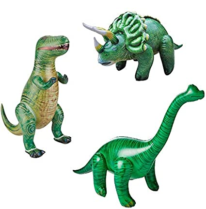 Amazon.com: Jet Creations Jumbo inflable dinosaurio piscina ...