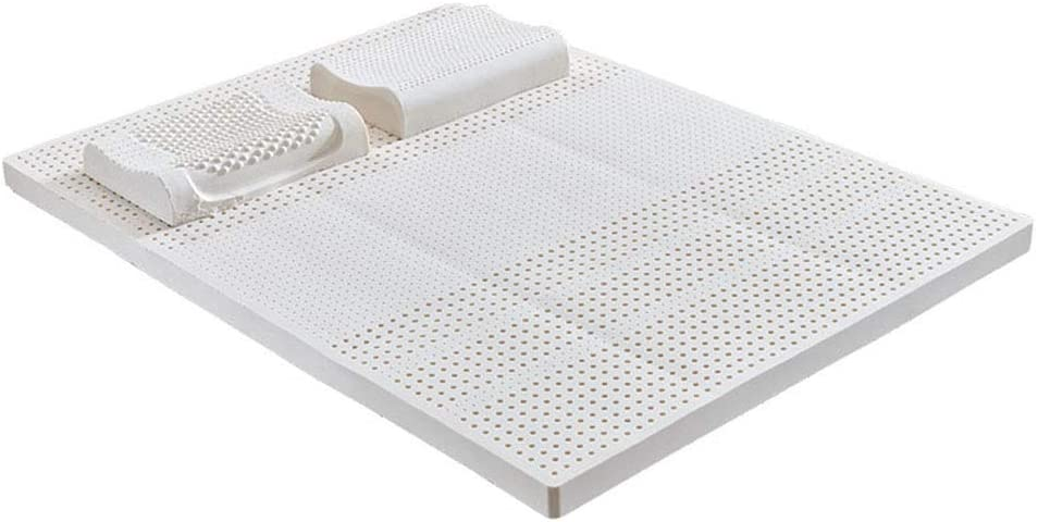 ONLYXKZ Natural Latex Mattress,Sleeps Cooler & More Support Than Memory Foam,Support and Better Overnight Recovery,120200CM
