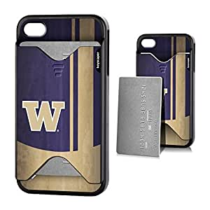Washington Huskies iphone 6 plus & iphone 6 plus Credit Card Case Fifty7 NCAA
