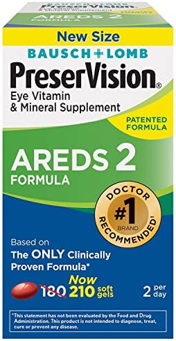 Bausch PreserVision AREDS Formula Supplement product image