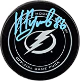 Nikita Kucherov Tampa Bay Lightning Autographed Official Game Puck - Fanatics Authentic Certified - Autographed NHL Pucks