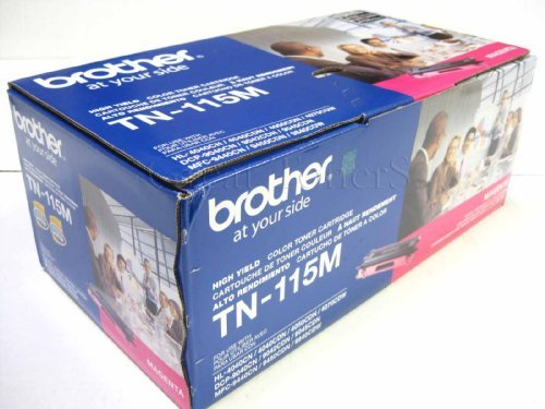 Gts Value Combo - GTS Value Combo: Brother Brand New Genuine OEM TN115 Magenta Toner Cartridge,...