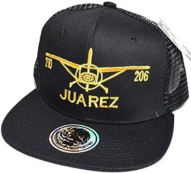 Headlines Mexico City Embroidered #04 Snapback Flat Visor Trucker Style Cap Baseball Hat