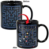 Pac Man Heat Change Ceramic Coffee Mug Retro Video Game Kitchen Cup