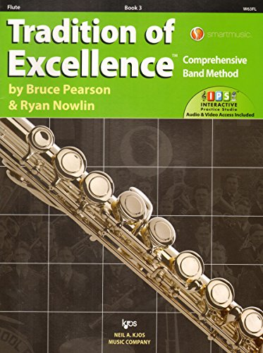 W63FL - Tradition of Excellence Book 3 - Flute