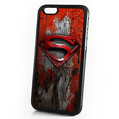 ( For iPhone 5 5S SE ) Durable Protective Soft Back Case Phone Cover - A11009 Super Hero Superman