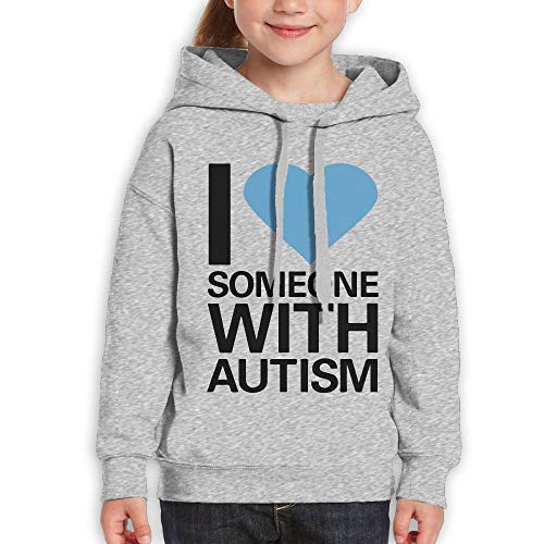 I Love Someone with Autism Funny Print Youth