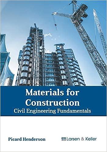 Materials for Construction: Civil Engineering Fundamentals