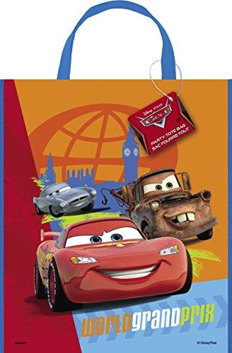 Large Plastic Disney Cars Goodie Bag, 13