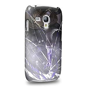 Case88 Premium Designs Guilty Crown GC Funeral Parlor Shu Ouma 1186 Carcasa/Funda dura para el Samsung Galaxy S3 mini (No Normal S3 !)