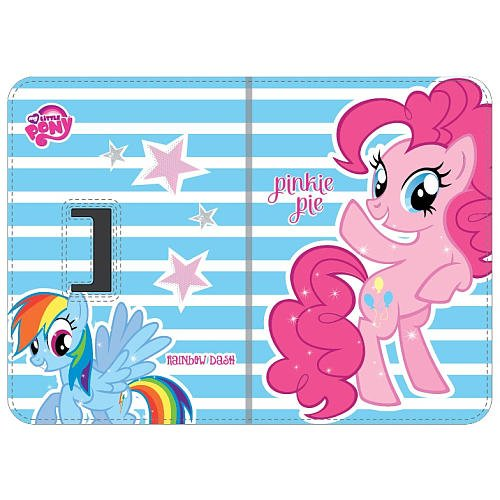 My Little Pony 7-Inch Universal Portfolio Case - Retail Packaging - Light Blue