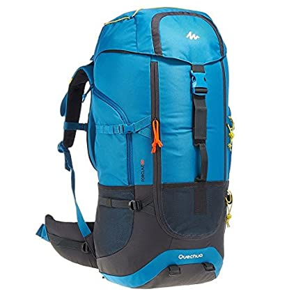 12127012b Quechua Forclaz 60 Backpack (Blue)  Amazon.in  Sports