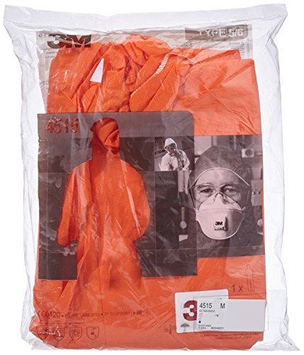 3M 4515OM Schutzanzug, Typ 5/6, Größe M, Orange