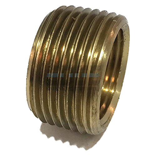 EDGE INDUSTRIAL BRASS REDUCING FACE BUSHING 1