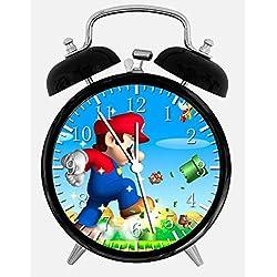 Super Mario Games Alarm Desk Clock 3.75 Home or Office Decor W21 Nice For Gift