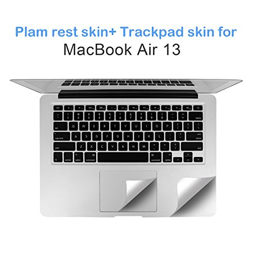FORITO Palm Rest Cover Skin with Trackpad Protector Compatible for MacBook Air 13 Model A1369 and A1466