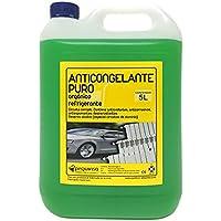 Anticongelante Puro-Concentrado Orgánico. Hasta -88ºC. Envase 5 Litros.