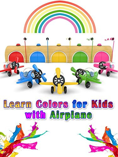 Learn Colors for Kids with (Childrens Airplane)