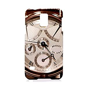 Breguet Watches Pattern Customized Thin Durrable Plastic 3D Case Cover L6M041 For Samsung Galaxy s5
