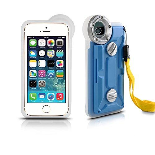 Underwater Housing for iPhone 6/6s iphone7, Grade IP68 Professional [100m/328ft] Dive Swimming Underwater Photo Video Camera Waterproof Case