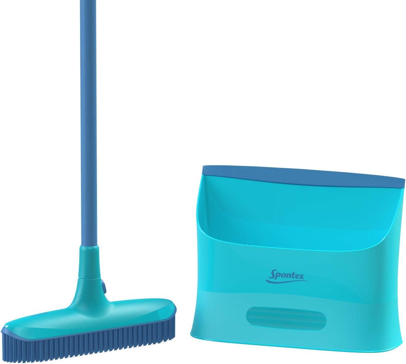 Spontex Catch&Clean - Set de Escoba y Recogedor