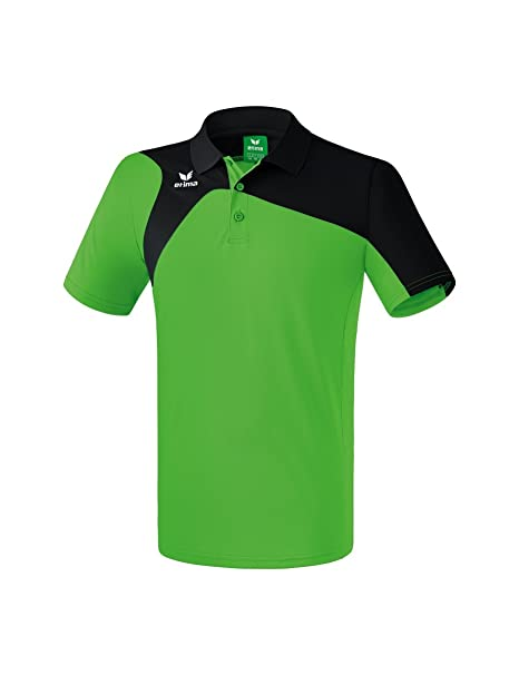 Erima GmbH Club 1900 2.0 Polo de Tenis, Unisex niños, Green/Negro ...