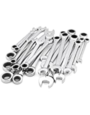 Craftsman 20 Piece Ratcheting Wrench Set, Inch / Metric