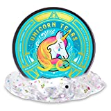 Mythical Slyme Unicorn Tears (Crystal Clear Glitter Putty / Unicorn Slime 2.8oz) - Hypoallergenic, Non-Toxic, Stress-Reliever Desk Toy - Great Relaxation Tool - Lavender Scented