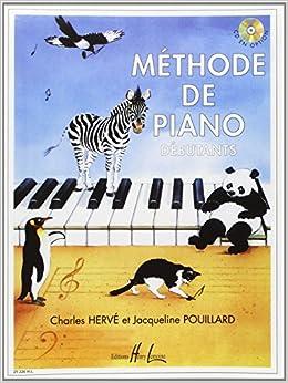 Book's Cover of Méthode de piano débutants (Français) Broché – 1 août 1990