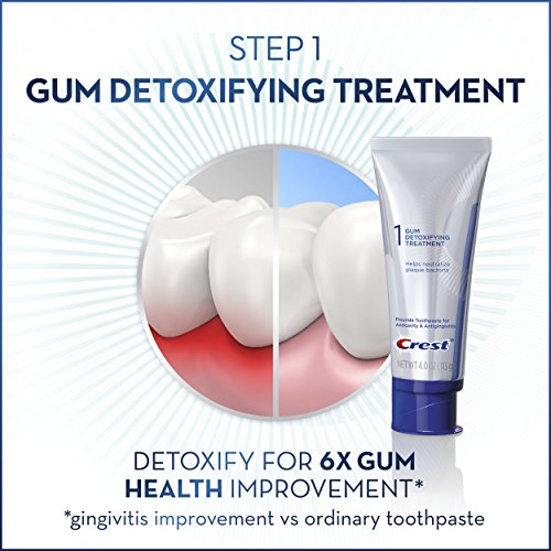 Crest Gum Detoxify + Whitening 2 Step Toothpaste, 4.0 oz and 2.3 oz by Crest (Image #4)