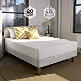Sleep Innovations Shea 10-inch Memory Foam Mattress, Made in the USA with a 20-Year Warranty - Queen Size