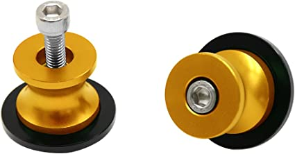 2 Pieces 8MM Motorcycle Spools CNC Swing Arm Stand Sliders for Ducati Triumph Z900 Z800 ZX 10R//6R S1000RR CBR1000RR//250R//600RR//900RR GSXR B-KING1300 DL650 DL1000 TL1000RS GSR GSX for Honda 250R 2011 CBR 900RR 2002-2003 CBR1000RR 2004-2011 for BMW S1000RR 2