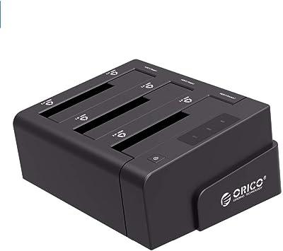 ORICO Base de conexion Docking Station USB 3.0 a SATA Admite 30TB ...