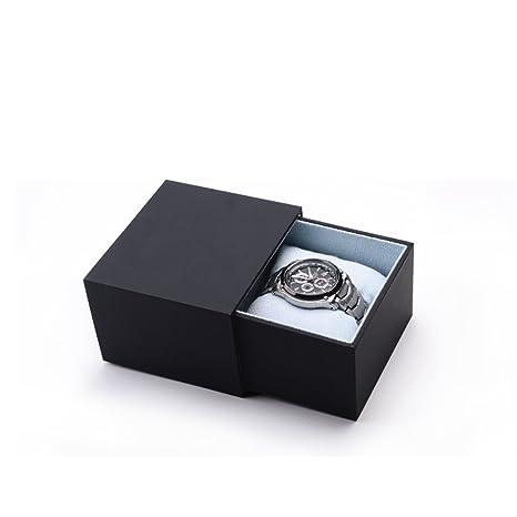 Cajas de joyería decorativas,El papel de tacto Caja de reloj Solo Caja regalo Caja