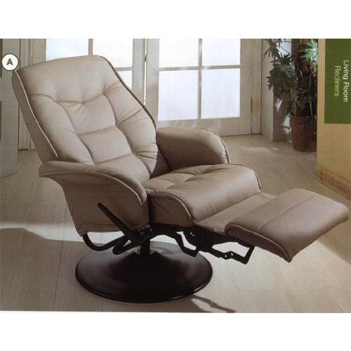 Leatherette Cushion Recliner Coaster Furniture