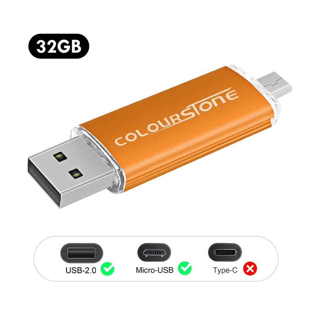 Cl/é USB 2.0 32GB Nouveaut/é Micro Stockage Externe 3 en 1 Compatible iOS//Android pour Apple Iphone7 Samsung PC OTG Flash Drive M/émoire 3 en 1