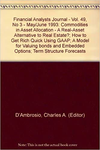 How To Get Rich Quick Using GAAP A Model For Valuing Bonds And Embedded Options