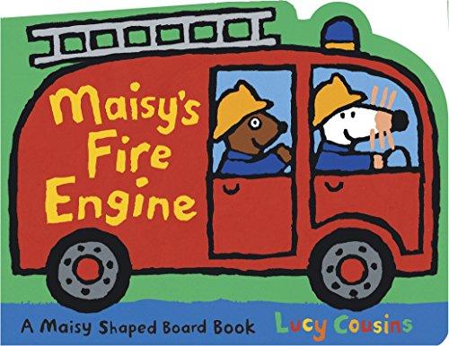Maisy's Fire Engine: A Maisy Shaped Board Book (Engine Fire Early)