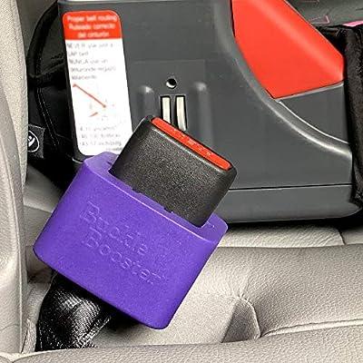 MERCEDES-BENZ car SEAT BELT BUCKLE RED adjuster strap stop SUPPORT CLIP SAFETY