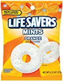 Life Savers, Orange Mints Hard Candy, 6.25oz Bags (Pack of 6)