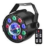 Eyourlife Disco Lights 12 LED Par Lights Rotating Disco Ball Lamp for DJ light Show Up Lighting for Party