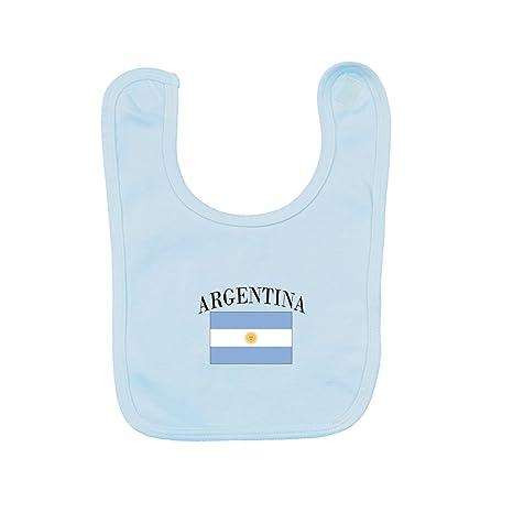 Pam GM - Babero para bebé, diseño de la bandera de Argentina: Amazon ...