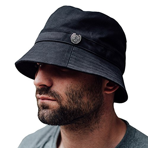e0fa0727b6e33 PG Wear - Gorro de pescador - para hombre negro negro Talla única   Amazon.es  Ropa y accesorios