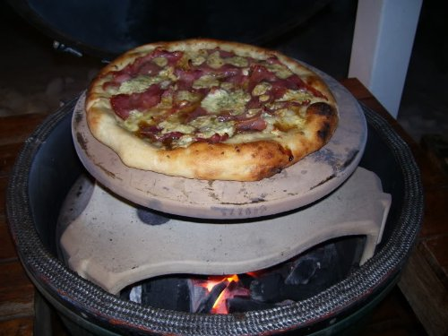Big Green Egg XL Pizza Baking Stone 21 inches by 3/4 by California Pizza Stones (Image #2)