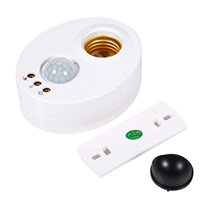 Bombillas LED E27 Base de bulbo Sensor infrarrojo IR Luz de pared automática Portalámparas Socket PIR