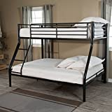 Duro Wesley Twin over Full Bunk Bed - Black