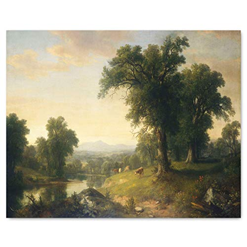 Landscape Art (Hudson River School Painting Print, Asher Brown Durand)