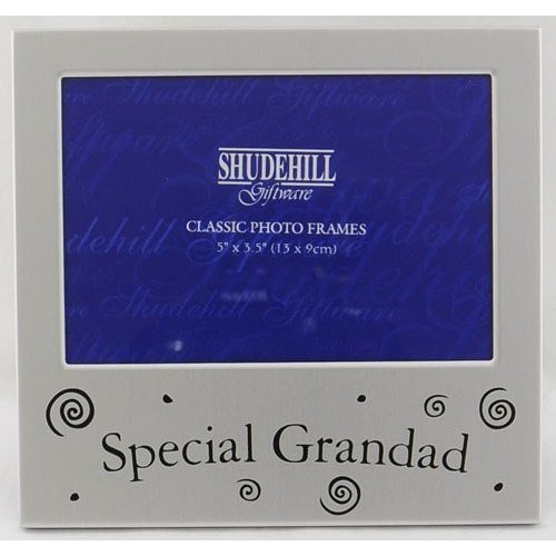 special grandad photo frame silver 5x35