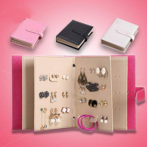 Amazon.com: 2017 Storage Earring Book Portable Show Creative Jewelry PU Leather Earring Storage Box Organize Maquillage Boite de Rangement: Baby