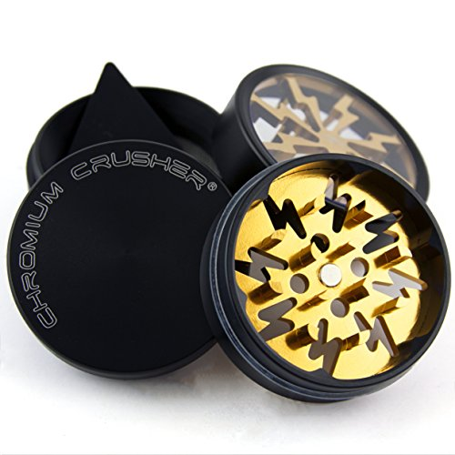 Chromium-Crusher-20-Inch-4-Piece-Tobacco-Spice-Herb-Grinder-Gold
